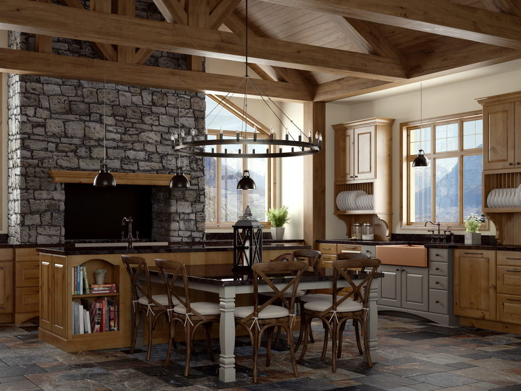 Woodland Cabinetry Kitchen