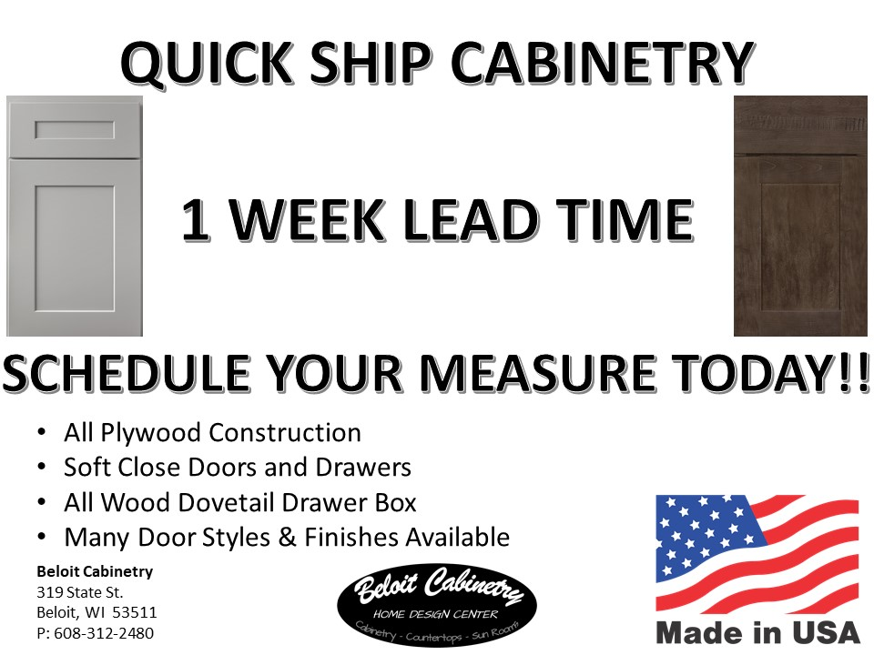 Quick Ship Cabinetry